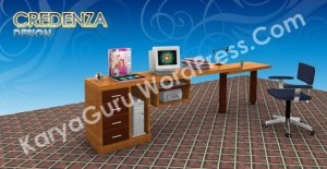 3D Credenza 01