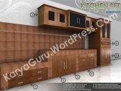 AutoCAD 3D Modeling Kitchenset Desain untuk di daerah Tangerang