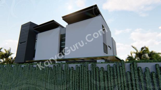 Desain Fasad Belakang Rumah Minimalist