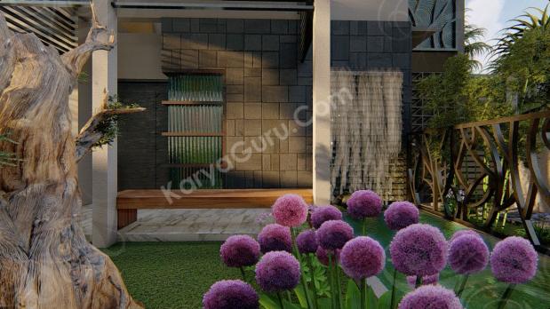 Jasa 3D Rendering Modeling Animation Architecture Batu Alam Rumah Minimalis
