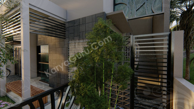 Jasa 3D Rendering Modeling Animation Architecture Pintu Besi