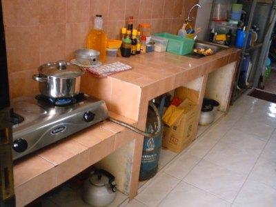 Kondisi Existing Dapur