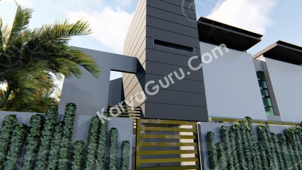 Minimalist House Design Jakarta Indonesia