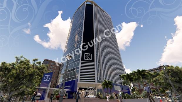 3D Modeling Rendering Highrise Building di daerah Jakarta