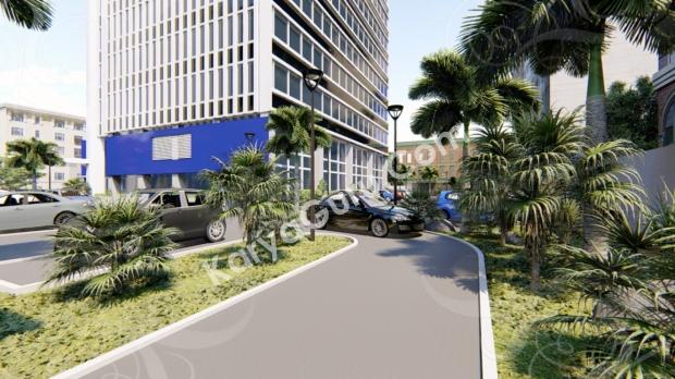Desain Gedung Perkantoran Tingkat Tinggi