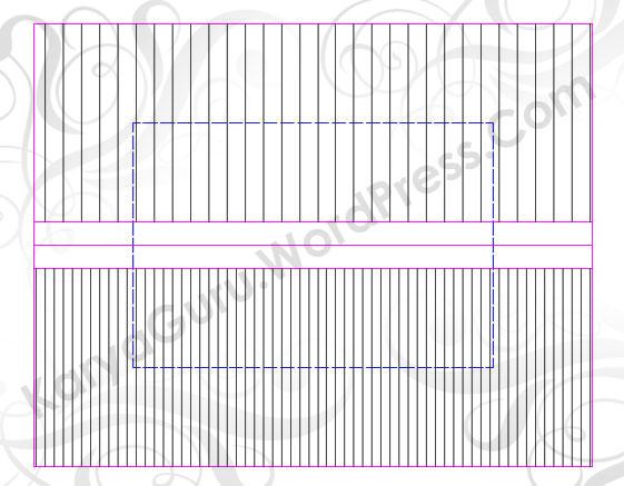 Free Ebook AutoCAD Gambar Pos Jaga Bagian 2 Atap