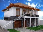 3D Modeling Rumah Tinggal Bertingkat 2Lantai di daerah Bogor