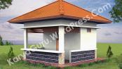 Pra Desain Renovasi Pos jaga SMKN 56 Jakarta