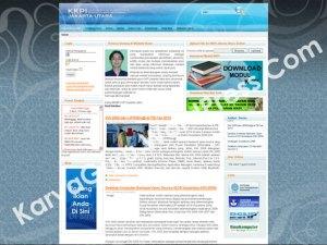 WEB CMS KKPI