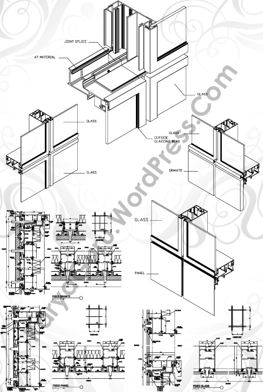 curtainwall-cad