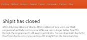 ShipIt Has Closed