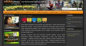 Draft Website CITRAtalenta