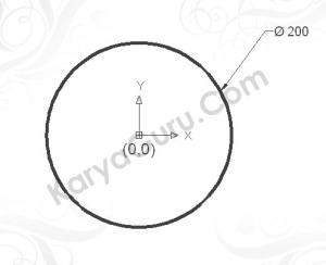 Circle Diameter 200