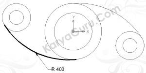 Hasil Trim Circle Diameter 400 (bawah)