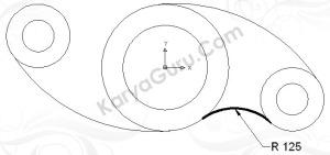 Hasil Trim Circle Diameter 125 (bawah)