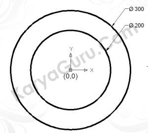 Circle Diameter 300