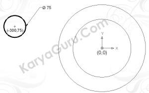 Circle Diameter 75
