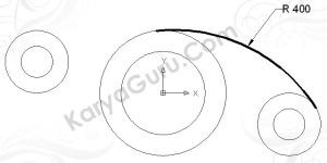Hasil Trim Circle Diameter 400 (atas)