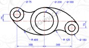 tutorial autocad circle-trim (rockerarm)