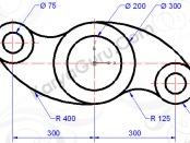 tutorial autocad circle-trim (rockerarm)