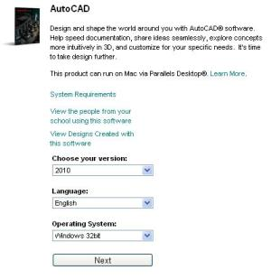 choose-autocad-version-os