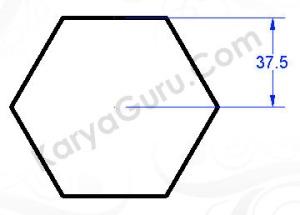 polygon circumscribed 37.5