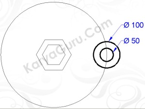 circle 50 , 100