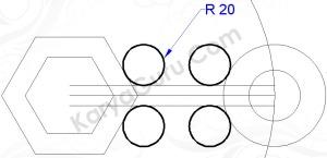 circle tantanradius 20