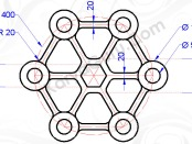 Hasil Akhir Circle Trim Line Polygon Copy Array