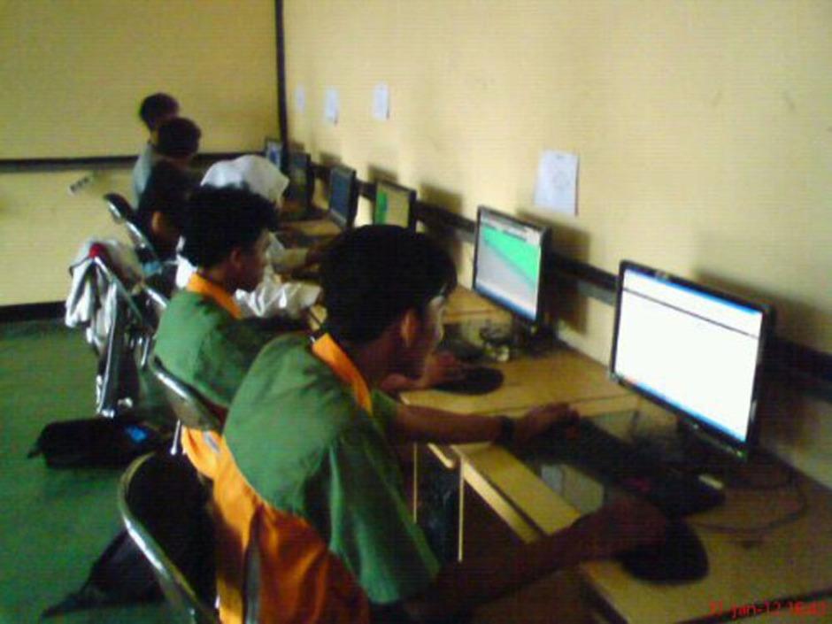 Proyek Animasi 3D gedung Sekolah