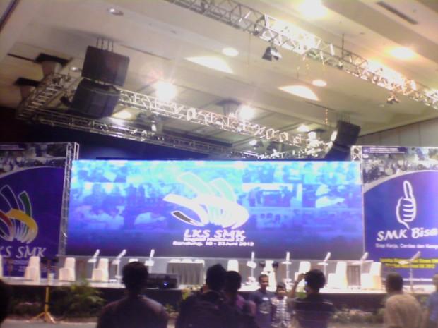 Arena Pembukaan LKS Nasional XX 2012