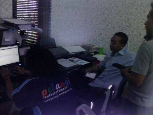 Training Web Administrator Pelangi Entertainment
