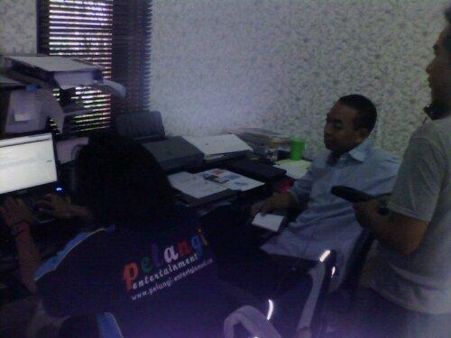 Training Web Administrator Pelangi Entertainment