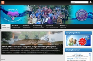 Website MAP6DKI