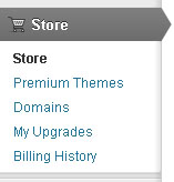 Wordpress Store Domains