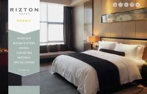 Draft Design Website Rizton Hotel
