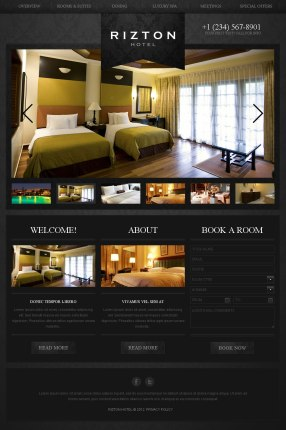 Alt2 - Draft Design Website Rizton Hotel