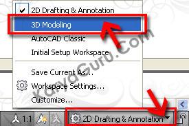 3D Modeling AutoCAD
