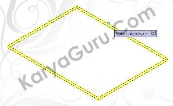 Apply Material to Object - Lantai AutoCAD