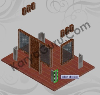 Apply to Object - Batu Alam AutoCAD