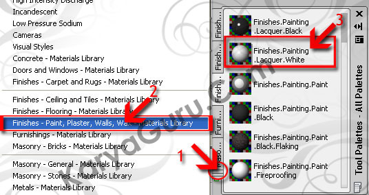 21. Material Dinding AutoCAD