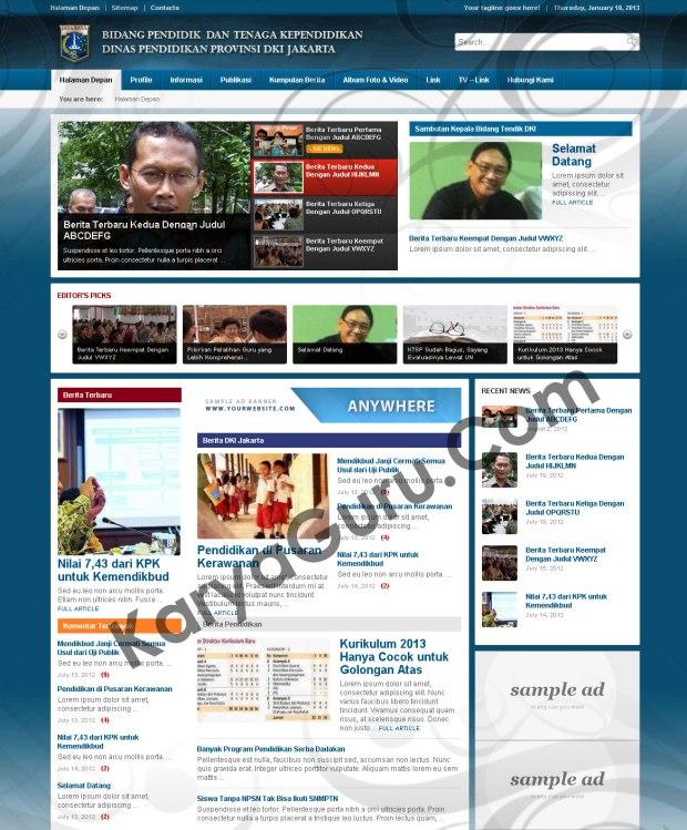 website-tendik-dki