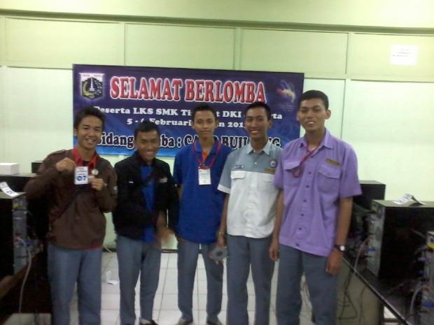 Photo Juara LKS SMK DKI JAKARTA - CADD BUILDING 2013