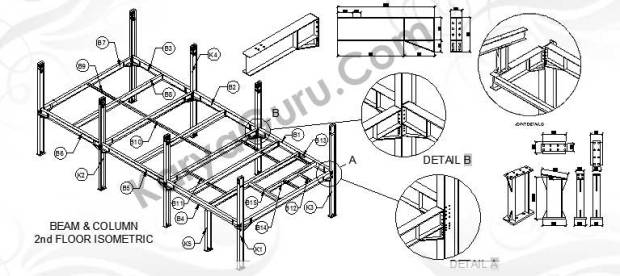Kursus AutoCAD 3 Dimensi Modeling Struktur