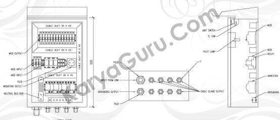 Kursus AutoCAD Elektrikal Layout Tampak Potongan
