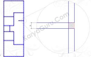 DINDING-PLASTER (Tutorial AutoCAD)