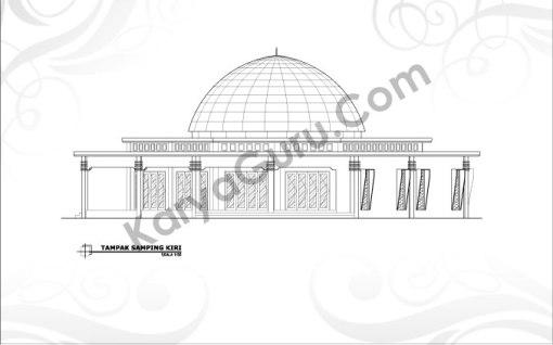 tampak-kiri-masjid