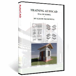 Free Ebook Training AutoCAD 2D-3D-Rendering