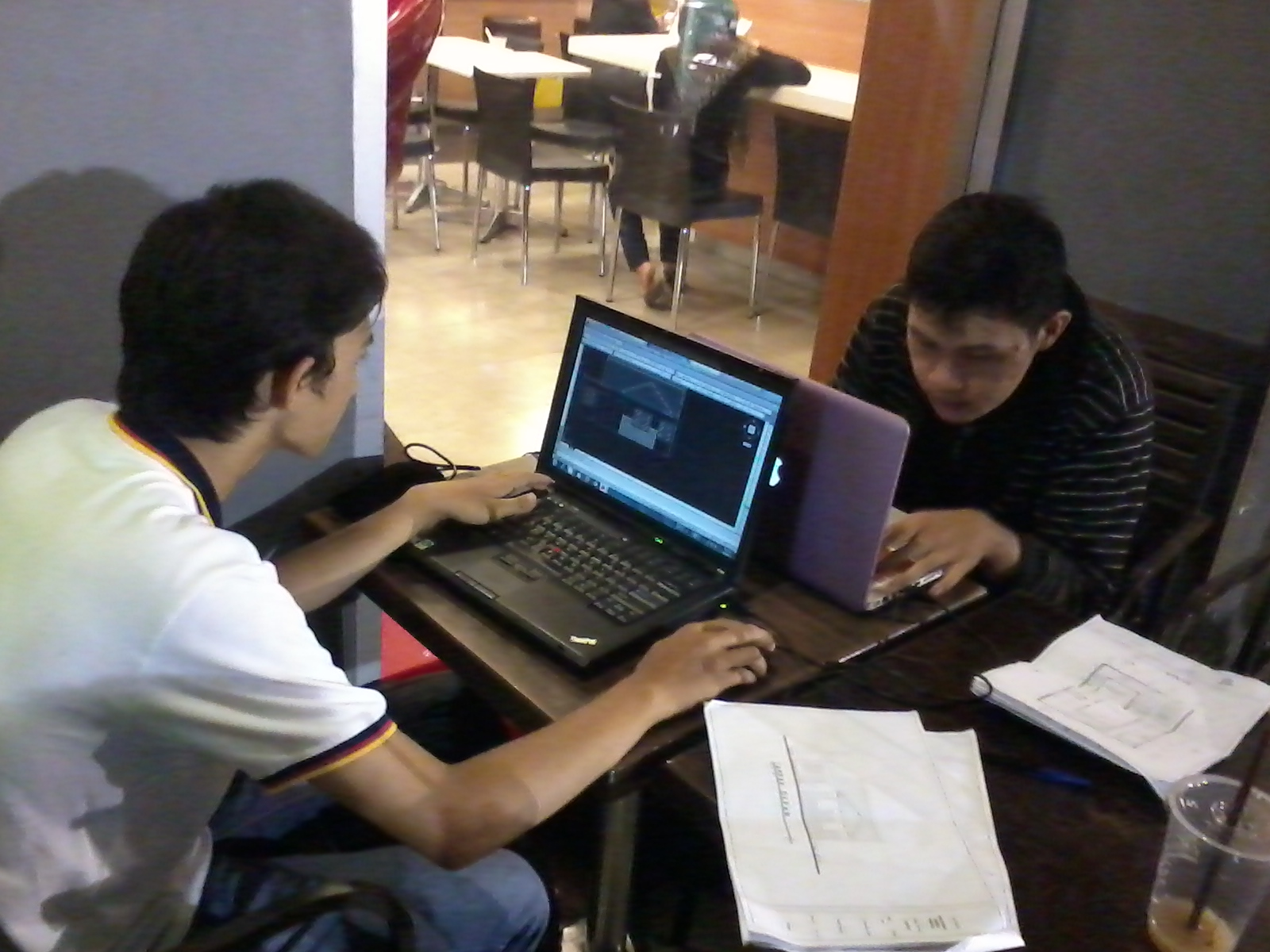 kursus private autocad 2d mahasiswa YAI - MCDonald Arion Plaza