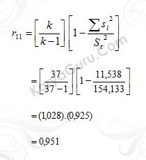 05. Uji Reliabilitas Instrumen Variabel X3